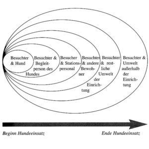 Grafik Erweiterung sozialer Aktionskreis